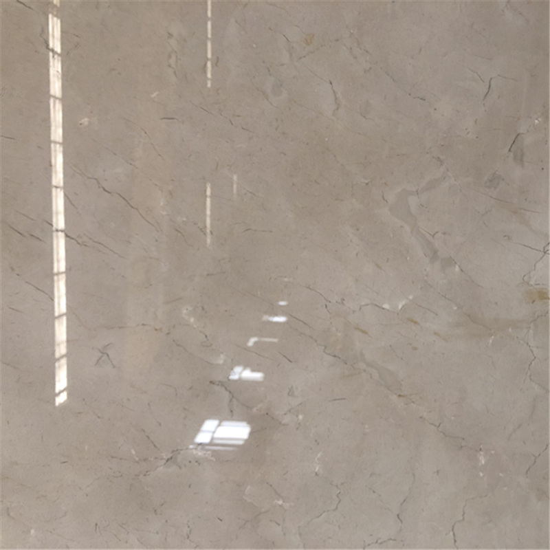 Polished Cream Vanian Beige Marble Big Slab